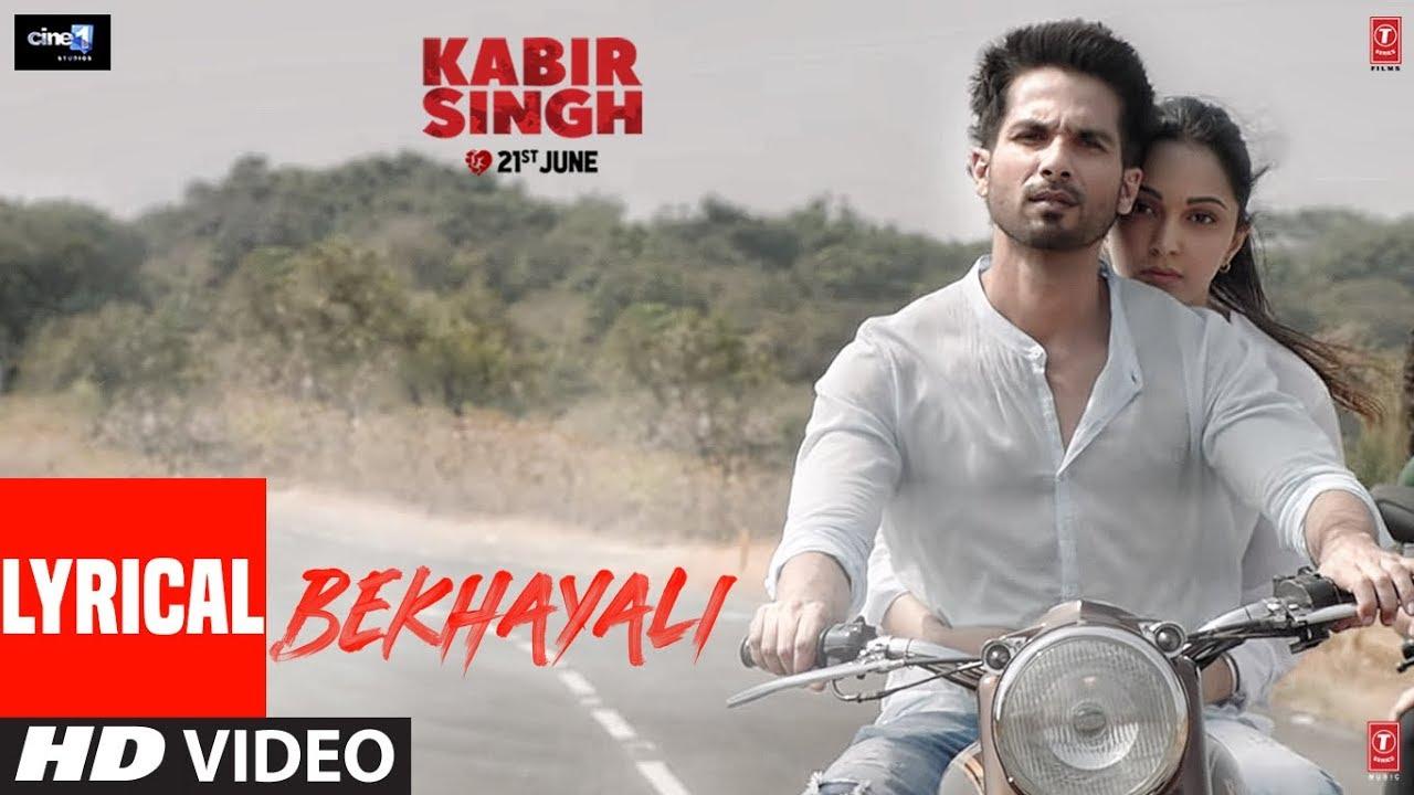 Bekhayali Lyrics in Hindi| Sachet Tandon Lyrics