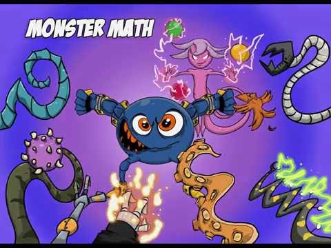 Screenshot of video: Monster Math
