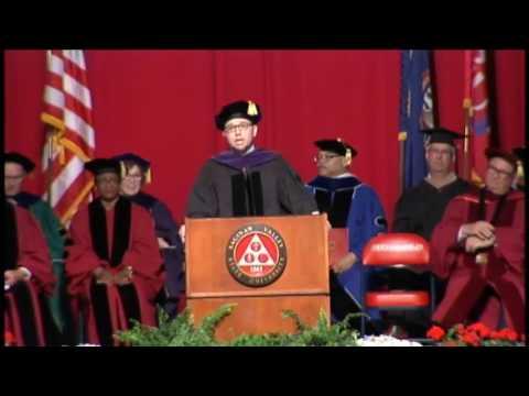 Shaun Johnson Commencement Address May '17