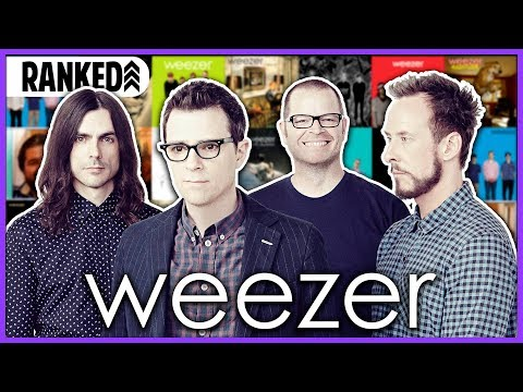 Every Weezer Album Ranked WORST to BEST