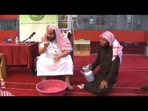 صفة وضوء النبي ﷺ ~ الشيخ محمد بن رمزان الهاجري