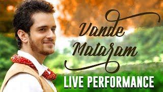 """Raghav Sachar – Performing """"Vande Mataram"""" Live At Fashion Week!!"""