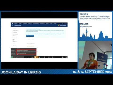 Joomla meets Symfony - Erweiterungen Entwickeln mit dem Symfony Framework