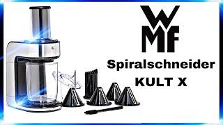 """WMF KULT X Spiralschneider   Gemüsespaghettis/Zoodles leicht gemacht   4K Ultra HD   """"DaLaMo"""""""