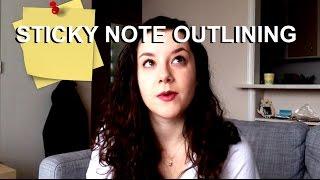 Writing Vlog I: Novel Outlining (with Sticky Notes!)