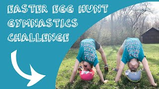 Gymnastics Easter Egg Hunt CHALLENGE | Fun Xcel Silver Tumbling Exercises