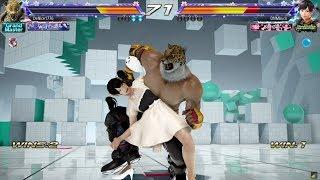 Tekken 7: King breaks Xiaoyu - Zenkie