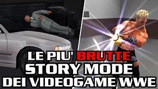 Le più BRUTTE Story Mode dei videogiochi della WWE