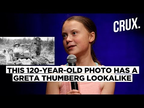 Greta Thunberg a Time Traveller? 120-Year-Old Photo of Her Lookalike Confuses All