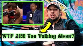 Brendan Schaub Disses Stephen A. Smith For His Comments At UFC 246