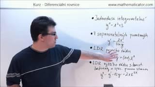 Kurz - Diferenciální rovnice