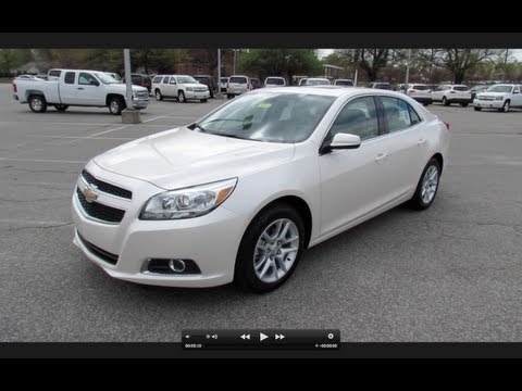 2013 Chevrolet Malibu ECO Start Up, Exhaust, and In Depth Review
