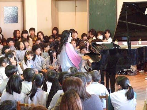 131129福島めばえ幼稚園「原田英代ピアノコンサート」