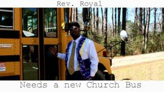 Church bus donation