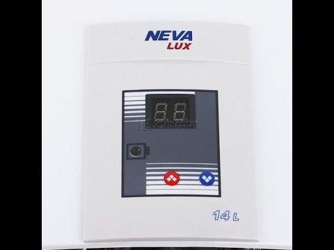 Потекла колонка установка Neva lux 6014 (Нева-Люкс 6014)