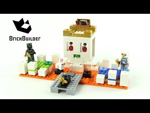 Vidéo LEGO Minecraft 21145 : Le crâne géant