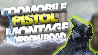 "COD MOBILE PISTOL MONTAGE||NARROW ROAD||""NLE CHOPPA"""