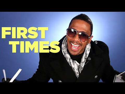 Nick Cannon Tells Us About His First Times