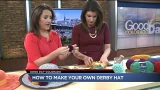 How To Make Your Own Kentucky Derby Hat