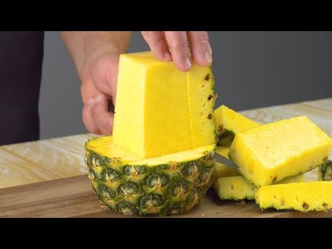 Cut This Tropical Fruit JUST SO For The Perfect Chicken Holder