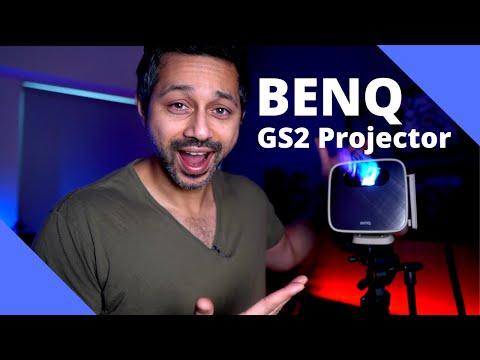 Portable projector vs TV? Benq GS2 Portable Projector Review