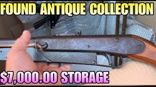 MASSIVE ANTIQUE COLLECTION IN $7000 STORAGE UNIT! I bought an abandoned storage unit