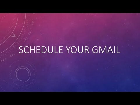 Schedule Outgoing Gmail Messages With This Google Sheets Script