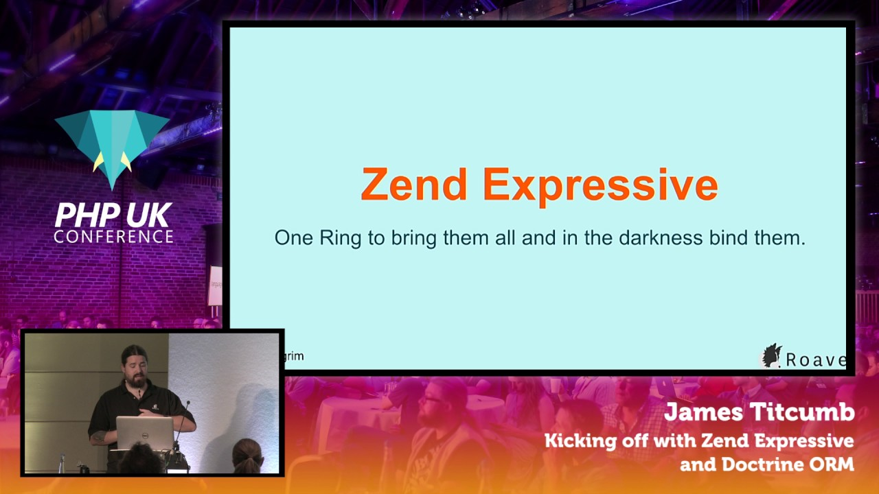 Kicking off with Zend Expressive and Doctrine ORM