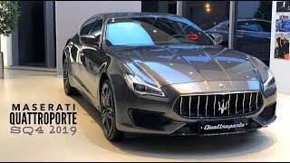 Обновлённый Maserati Quattroporte SQ4 2019 уже в России