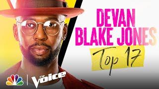 "Devan Blake Jones Sings Backstreet Boys' ""Shape of My Heart"" - Voice Live Top 17 Performances 2021"