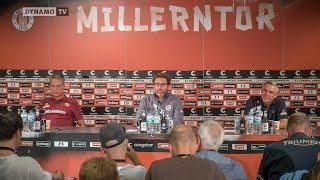 2. Spieltag | FCSP - SGD | Pressekonferenz nach dem Spiel