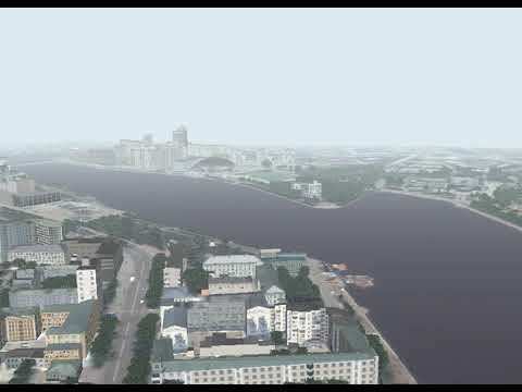 3D Model (vectorization) of Ekaterinburg City (Russia)