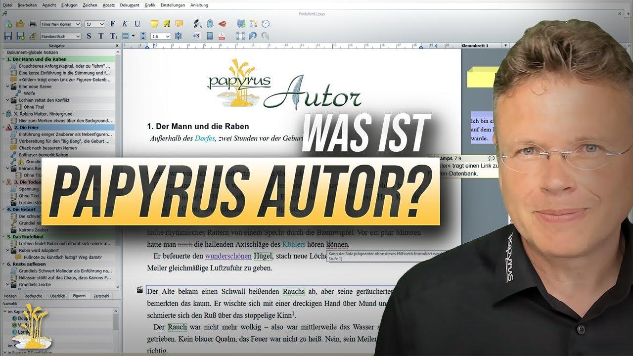 Was ist Papyrus Autor? Einstieg in das Schreibprogramm für Schriftsteller