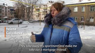 Lives In Ruins: Family Homes Razed In Russia