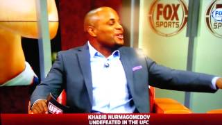 Khabib Nurmagomedov interview on UFC Tonight