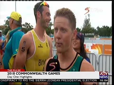 2018 Commonwealth Games - The Pulse Sports on JoyNews (5-4-18)