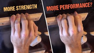 How Gripping Technique Affects Finger Strength by Mani the Monkey