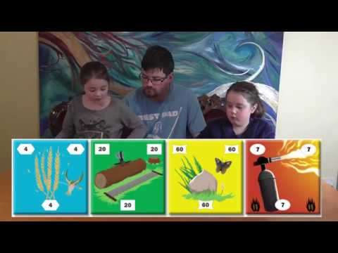 Little Meeples reviews Flaming Pyramids
