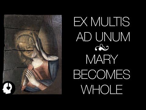 Restoring A Split Painting : Ex Multis Ad Unum - Binaural ASMR(ish)