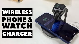 Apple Watch and iPhone Wireless Charging Stand Review
