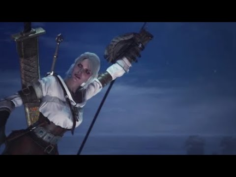Monster Hunter World How to Unlock Ciri Layered Armor Without Defeating Ancient Leshen Witcher 3