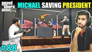 TERRORIST ATTACK ON PRESIDENT | GTA V GAMEPLAY #88