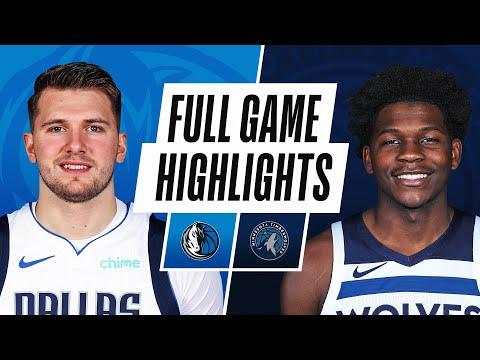 Minnesota Timberwolves vs Dallas Mavericks</a> 2021-05-17