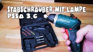 Ausprobiert - Lidl - PARKSIDE® Akku-Stabschrauber PSSA 3,6 D4