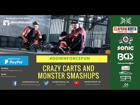 Monster Smash-Ups And Crazy Carts 2018 - Brilliant New Car Toys - Downforce UK @ Toy Fair