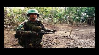 Raid Against New People's Army banditry training camp