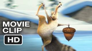 Ice Age Mammoth Christmas Movie CLIP #1 - The Acorn-Obsessed Scrat (2011) HD