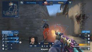 ZywOo MVP!! - Vitality vs ViCi - IEM Katowice Major 2019 - CS:GO