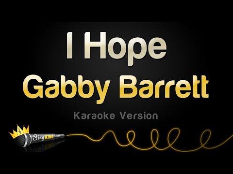 Gabby Barrett - I Hope (Karaoke Version)