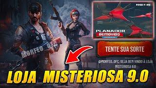 CONFIRA A LOJA MISTERIOSA 9.0, PLANADOR REMOVIDO, EVENTO RECARGA, DIAMANTE ROYALE – FREE FIRE
